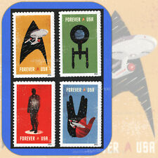 2016   STAR TREK  Genuine  USPS  Forever®  MINT  4 Individual stamps  FULL SET