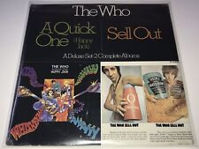 SEALED The Who - Sell Out / Quick One, Deluxe Set 2 Complete LP Albums MCA2 4067