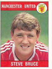 Panini Football 1990 - Steve Bruce - Manchester United - # 175