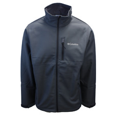 Columbia Men's Graphite Ascender Water Resistant Softshell Zip Up Jacket