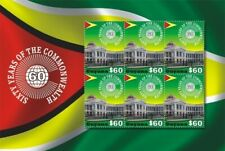 Guyana - 2009 - Sixty Years Of The Commonwealth - Sheet Of 6 - Mnh