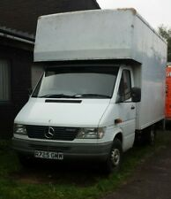 Mercedes Luton Van with tail lift (12 months ticket)