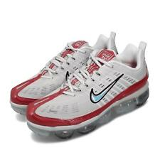 Nike Air Vapormax 360 Max Vast Grey White Red Mens Running Shoes CK2718-002