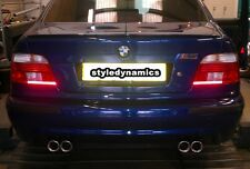 BMW E39 M5 CUSTOM STAINLESS STEEL EXHAUST SYSTEM.FULL SPORT WITH NEW TAILPIPES.