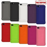 AMZER SILICONE SOFT SKIN JELLY CASE COVER FIT FOR APPLE iPHONE SE