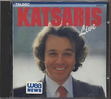 CYPRIEN KATSARIS - Live  - CD JAPAN 1986 NEAR MINT CONDITION