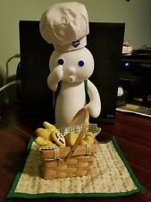 "Danbury Mint Pillsbury Doughboy Figurine ""Picnic Surprise """