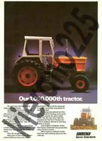A3 Fiat Fiatagri New Holland Advert Vintage Tractor Brochure Poster Leaflet