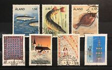 Aland Finland Year Set 1990 CTO Complete w/ Reprint - EXCELLENT!