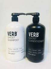 VERB GHOST WEIGHTLESS SHAMPOO & PROTECT CONDITIONER - 32oz LITER DUO