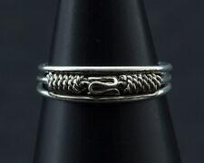 Bague de pied -bijoux d' orteil ethnika Ekta ajustable en metal blanc  W89 8029
