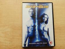 INTO THE BLUE (2006) DVD UK EDITION REGION 2 PAUL WALKER JESSICA ALBA
