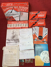 New listing Vintage Speedball Art Hobby And Lettering Set No 2 Hunt Manufacturing