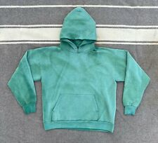 Vintage 80's/90's Sun Faded Hoodie Green Size L