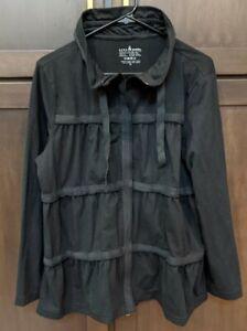 Women's Neon Buddha Black Jacket - XL