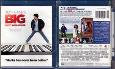 Blu-ray Penny Marshall BIG Tom Hanks Robert Loggia comedy WS SE Region A OOP NEW