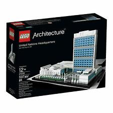 LEGO Architecture UNITED NATIONS HEADQUARTERS 21018 New York Sealed NIB Retired
