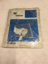Bobcat 542B Skid Steer Operators Manual