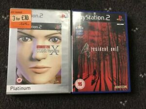 ps2 Resident Evil 4 Sony + Resident Evil Code: Veronica X PlayStation Sony