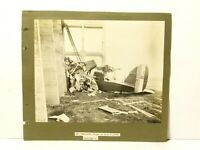 1918 Orford Ness D.H.10 Aeroplane Crash Lt. Barratt 2 Real Photographs WW1