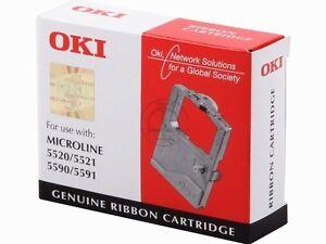 OKI FARBBAND  ML-5520  Microline 5521 5590  5591 RIBBON PART NUMBER 01126301