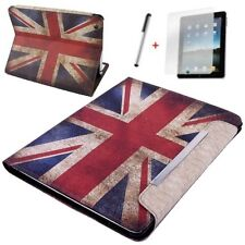 Hülle f Apple iPad Air 5 Schutzhülle Case  Tasche Leder-Imitat England GB Flagge