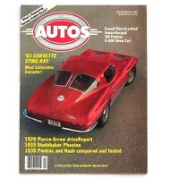 1987 Special Interest Autos Magazine Chevrolet Corvette Sting Ray Chevy SIA