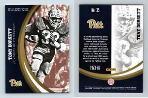 Tony Dorsett #35 Pittsburgh Panthers Collegiate 2016 Panini Trading Card