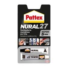 Pattex Nural 27, SOLDADURA METALICA EN FRIO - RAPIDO 5 MINUTOS 22 Ml ENVIO NACEX