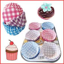 60 tazas de papel desechable Magdalena Cajas Fiesta De Decoración De Repostería Molde Muffins Cup Envolturas 7cm