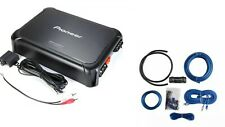 Pioneer GM-DX971 2400 Watt Max Amplifier Car Monoblock Sub Amp + 4 Ga. KIT