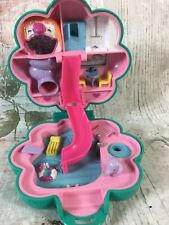 POLLY POCKET Bluebird Vintage 1990 Water Fun Park Compact Flower - no figures