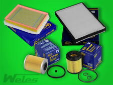 SERVICEPAKET OPEL ASTRA H 1,7 CDTI 110  /125 ps / Öl- Luft- Pollen- Dieselfilter