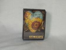 """TIM COFFEY 4"""" demdaco YOU ARE MY SUNSHINE lock key ART HEART ornament  NIB"""