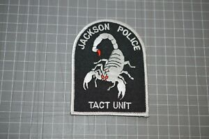Jackson Tennessee Police Tact Unit Patch (B17-V)