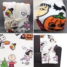 Peanuts Berkshire Blanket VelvetSoft Throw Halloween Christmas Thanksgiving NEW