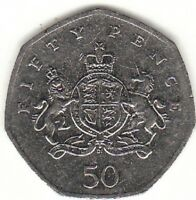 FIFTY PENCE 50 p  Coin Hunt  Multi Listing