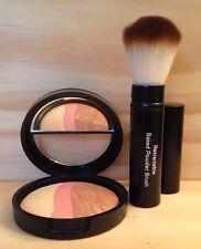 Laura Geller Baked Highlighter Blush Vanilla Peach Cobbler w/ retractable brush