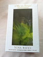 NINA RICCI-L'Air Temps 50ml DU EAU DE TOILETTE-Ltd Couture EDITION-SIGILLATO
