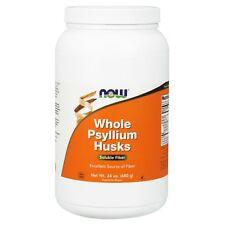 NOW Foods Psyllium Husks, Whole, 24 oz.