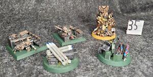 Warhammer 40k Space Marine Custom objective markers