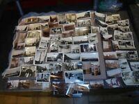 LOT de 90 Photographies de Famille Vacances Voiture F & Etranger Snapshot