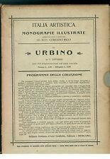 LIPPARINI G. URBINO IST. IT. ARTI GRAFICHE 1903 ITALIA ARTISTICA 6 MARCHE