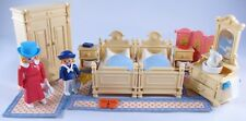 PLAYMOBIL 5321 VICTORIAN YELLOW BEDROOM-100%-COMPLETE-NEAR PERFECT!-5300 MANSION