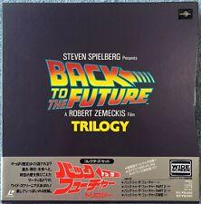 1993 Back to the Future Trilogy PILF-1583 Laserdisc Box Set + Secrets of BTTF