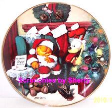 Garfield Collector Plate Not a Fat Cat Stirring Davis Danbury Mint Retired