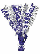 40th Birthday Party Foil Table Cascade Centrepiece Decoration Assorted Colours