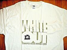 * MANITOBA MOOSE Whiteout Winnipeg Arena * T Shirt XL Authentic Original Logo
