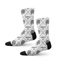 Siberian Cat Paws Fun Cool Novelty Crew Men Women Socks