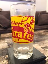 VINTAGE PITTSBURGH PIRATES GLASS 1960's Very Rare 🔥